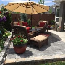 Patio Design during day